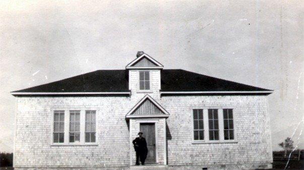 Acienne école pret de chez Gérard Ward